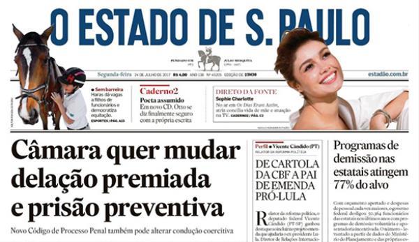 Paulistão 2017 e projeto do Haras Jahu são destaque no Estadão