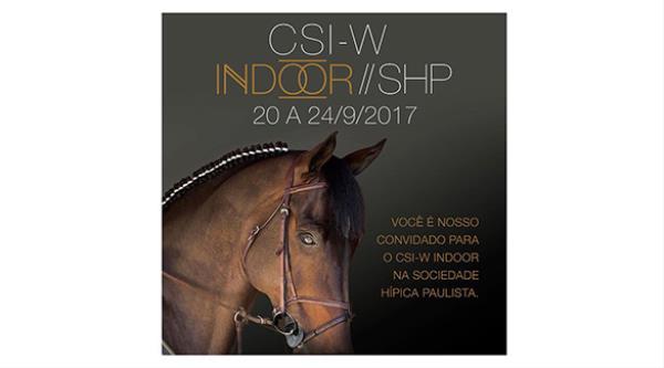 Internacional Indoor 2017 agita a Hípica Paulista entre 20 e 24/9