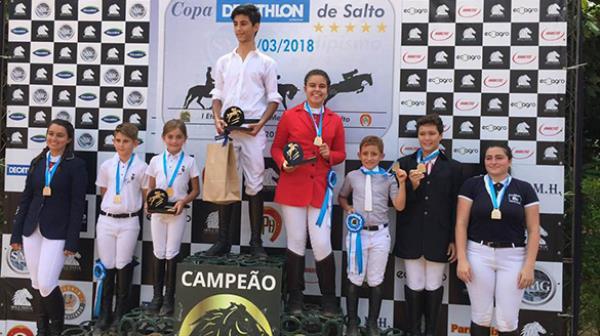 1ª etapa Metropolitana teve vitória de Julia, Elizeu, Carlos Eduardo e Gabriela