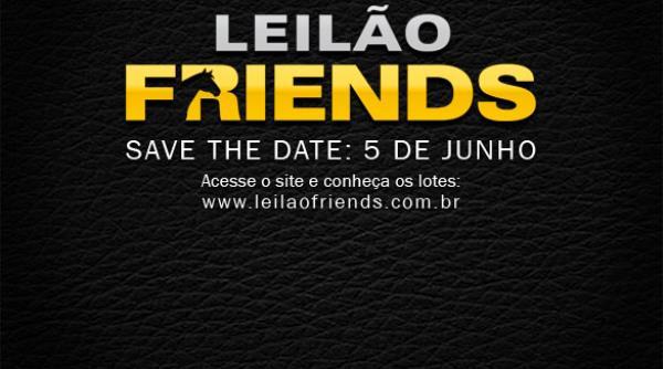 Leilão Friends - 5/6 | Acesse o site