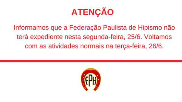 Comunicado Expediente FPH 25/6