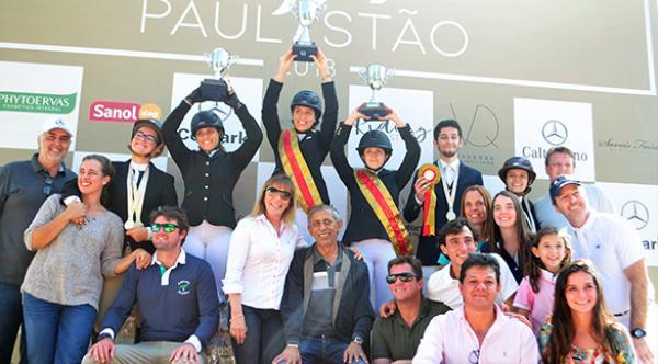 Pedro, Guilherme, Paula e Camila sagram-se campões paulistas Jovens Cavaleiros 2018