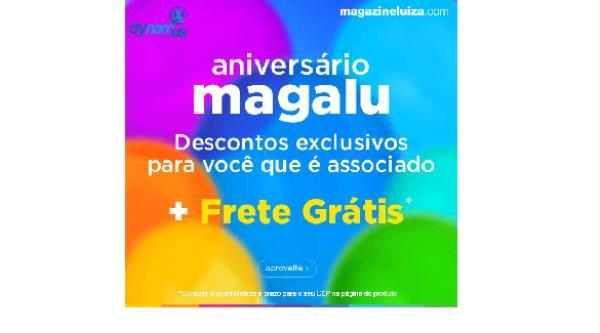 Clube de Vantagens | Descontos especiais de aniversário Magazine Luiza