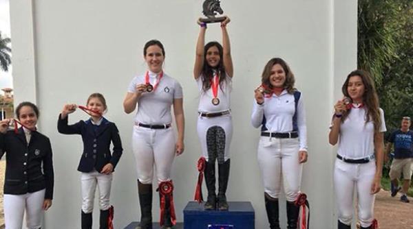 Alice, Maria Clara, Beatriz e Ana Clara vencem a 5ª etapa Centro Sul