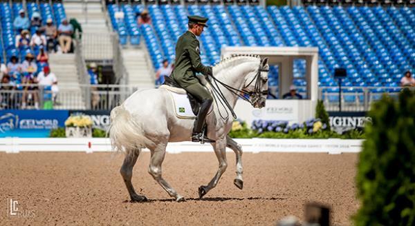 Time Brasil de Adestramento se despede dos Jogos Equestres Mundiais