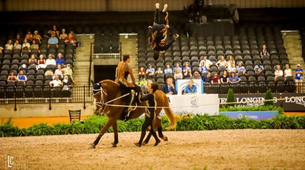 Time Brasil estreia bem no Volteio nos Jogos Equestres Mundiais