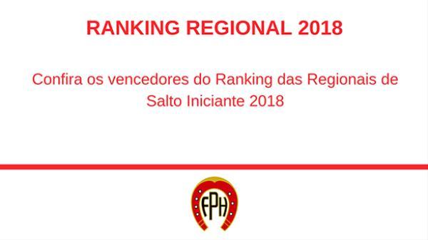 Ranking Regional 2018