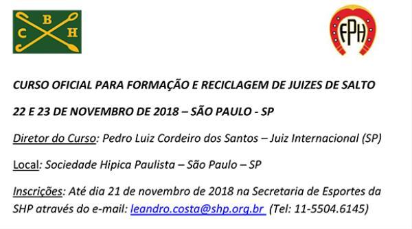 Curso para Juízes de Salto com Pedro Cordeiro, 22