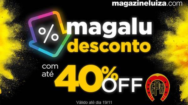 Clube de Vantagens | Ofertas especiais Magazine Luiza no feriadão, até 19/11