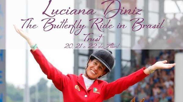 Luciana Diniz Butterfly Ride in Brasil - 20 a 22/04