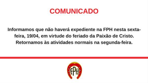 Comunicado   Expediente FPH Semana Santa