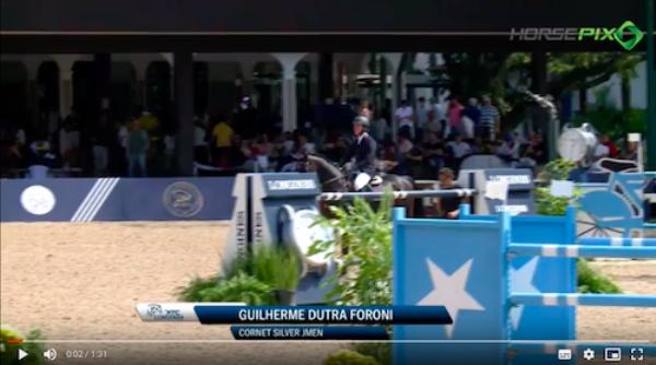 Vencedor do GP XTC, Cornet Silver Jmen é cavalo s