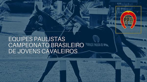 Equipes Paulistas no CBS Jovens Cavaleiros 2020
