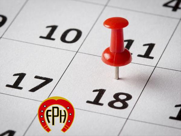 Novo Calendário Oficial de Salto e Salto Iniciante 2016 - Atualizado em 23/09/16