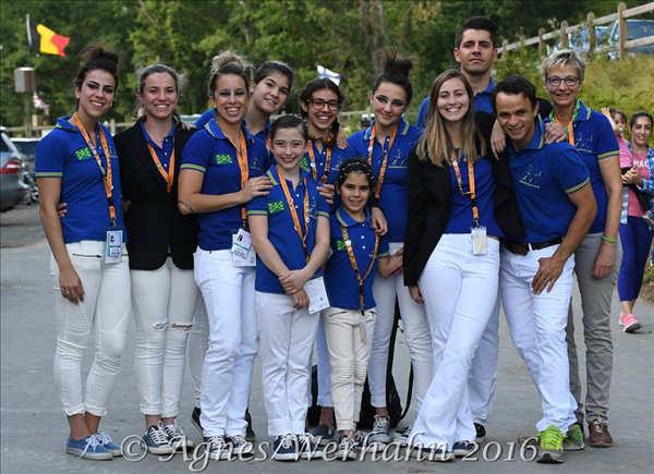 Brasil é o 8° colocado no Pôle européen du Cheval na França nesse final de semana