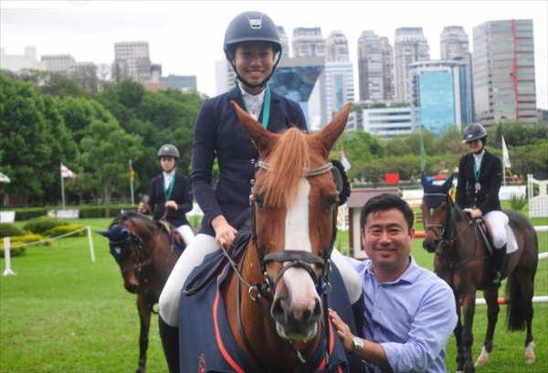 Lys Kang, campeã paulista 2016 da categoria Mirim, larga na frente na seletiva FEI Children