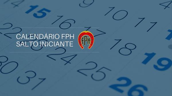 Calendário de Salto Iniciante FPH 2021