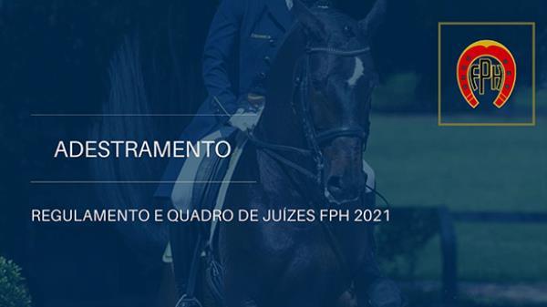 Regulamento de Adestramento e Quadro de Juízes FP