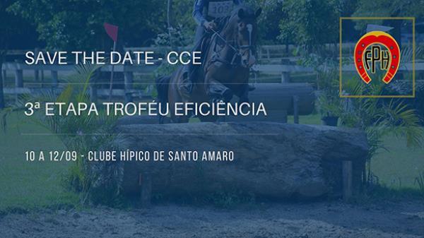 Save the Date - 1ª etapa Troféu Eficiência de CCE