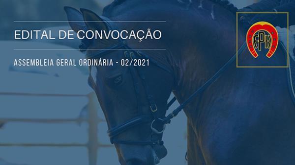 Edital de Convocação Assembleia Ordinária - 02/20
