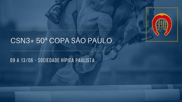 Programa CSN3* 50ª Copa São Paulo - 09 a 13/06 -
