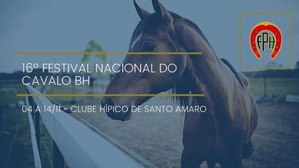 Programa Festival Nacional do Cavalo BH - 04 a 14