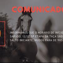 Comunicado - Mudanç